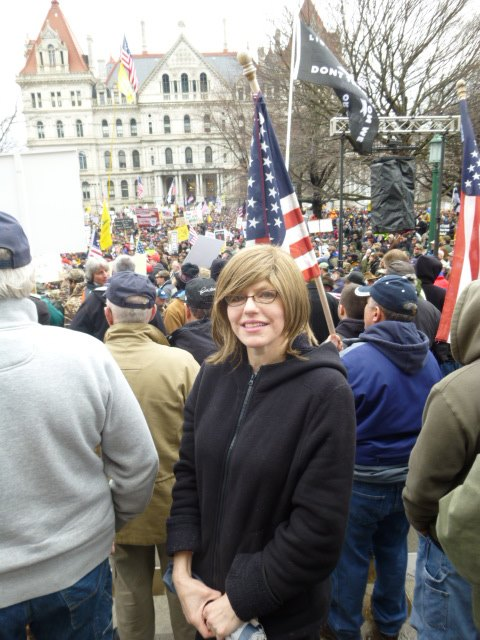 """Albany, New York """"SAFE Act"""" Protest: A Pictorial Through the Eyes of Devorah Tehilla"""