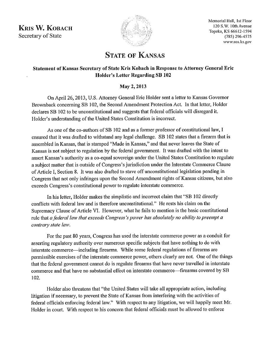 Kris Kobach page 1