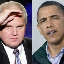 Rush Limbaugh Barack Obama