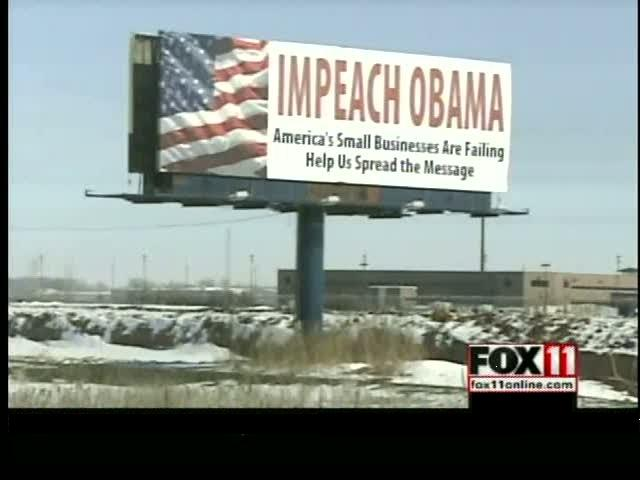impeach obama billboard