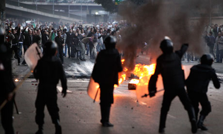Egyptian Protests Begin Early… American Journalist Killed