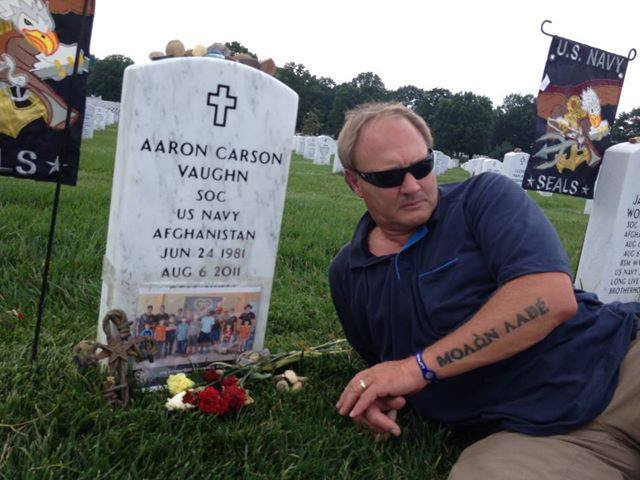 billy vaughn at aarons grave
