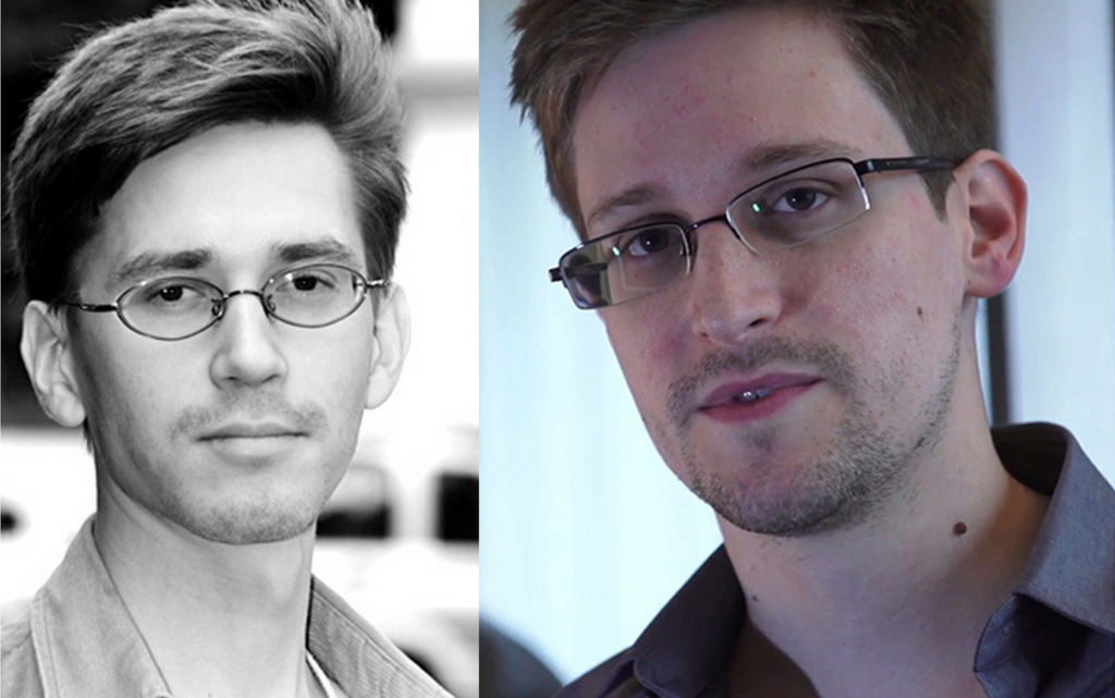 I found Edward Snowden!