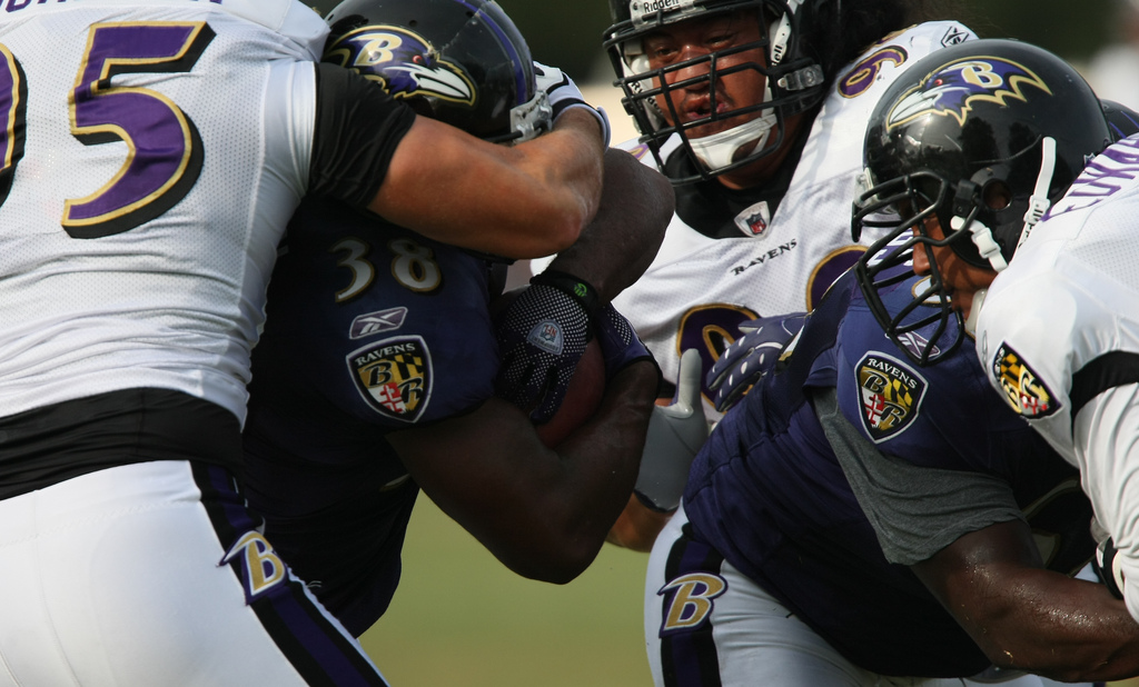 Baltimore Ravens Training Camp August 20, 2009
