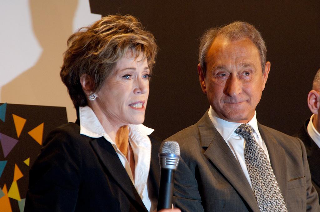 Bertrand Delanoë Jane Fonda