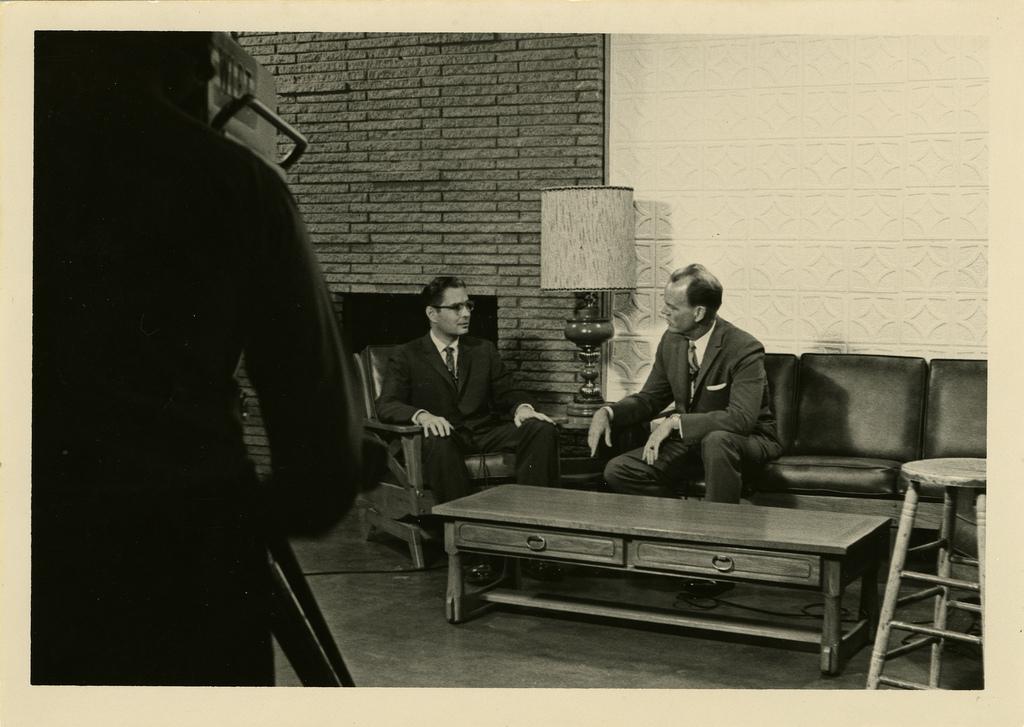 Dick Sanders and Paul Harvey.