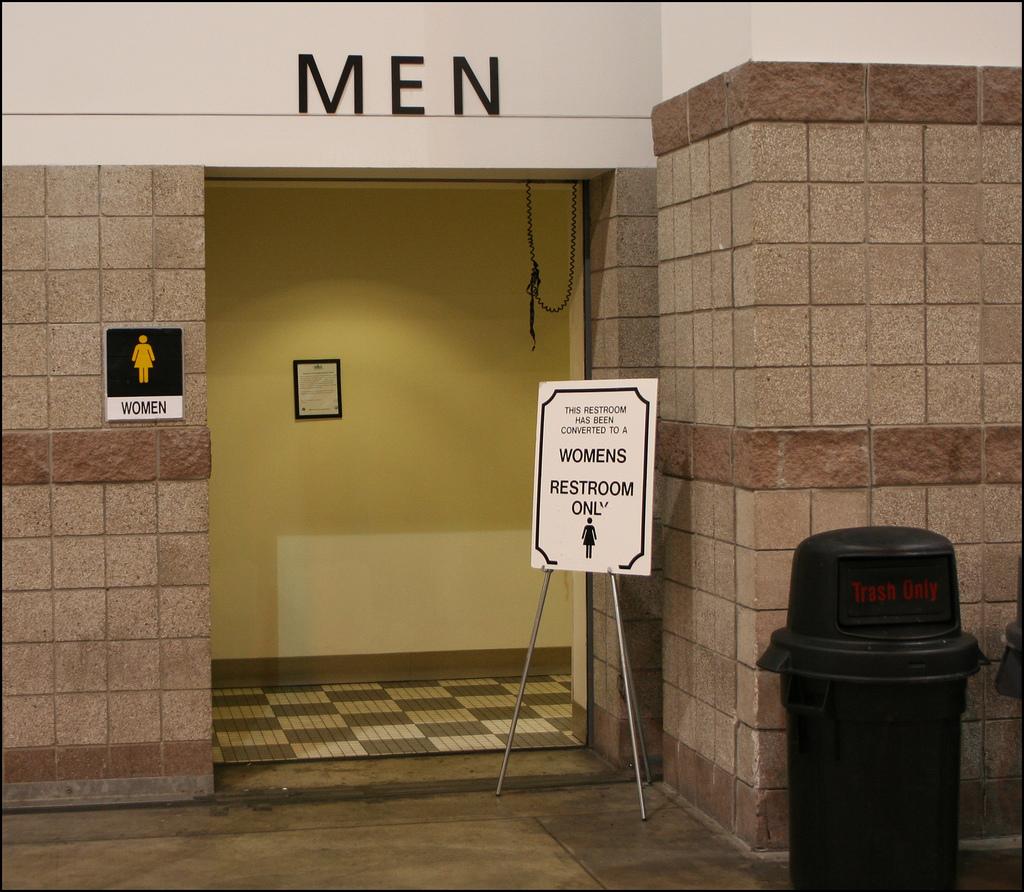 Gender-Confused Restroom
