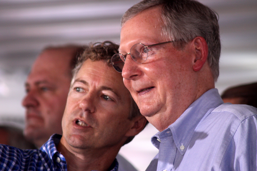 Rand Paul & Mitch McConnell