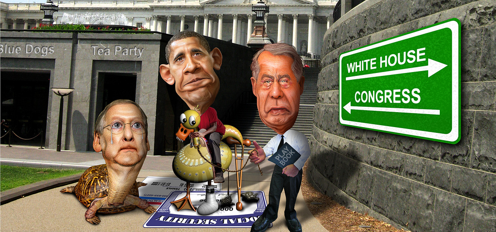 Riding the Lame Duck to the Fiscal Cliff