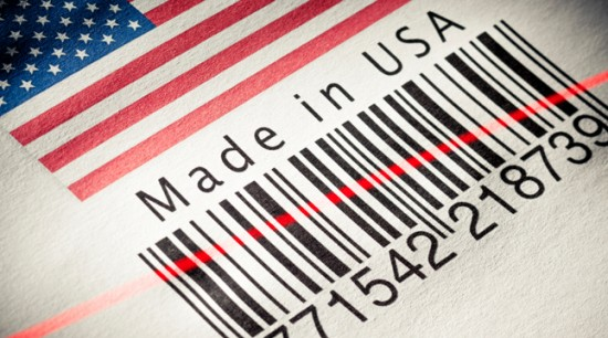 MADE IN AMERICA BAR CODE