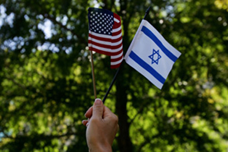 Israel-Flag-American-Flag-II