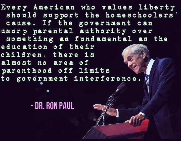 Ron Paul homeschooling