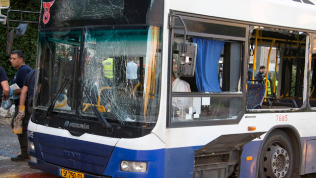 "Pipe Bomb Explodes On Israeli Bus- Hamas Cheers ""Heroic Action"""