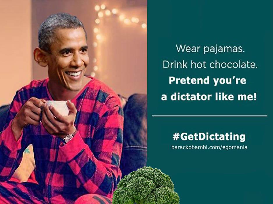 Obama Pajama Boy