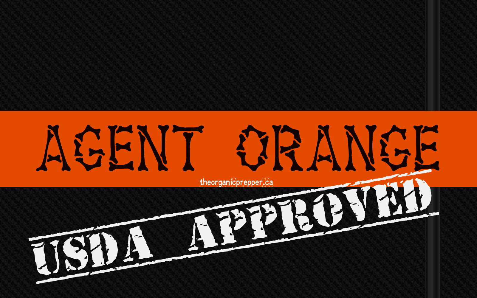 USDA approved agent orange