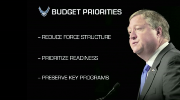 air force budget priorities