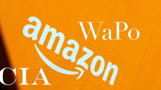 CIA Washington Post Amazon.com Jeff Bezos