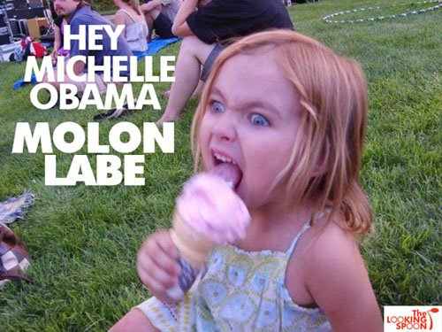 girl_eating_ice_cream_taunting_michelle_obama