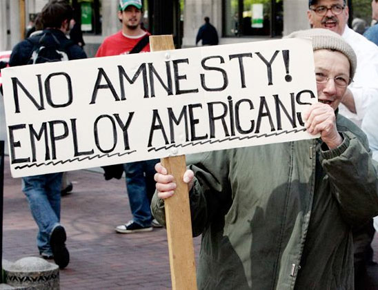 no amnesty employ americans