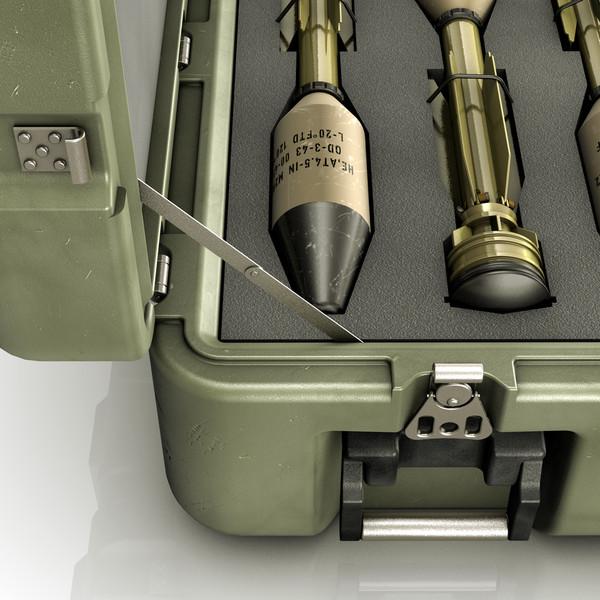 stinger missile case