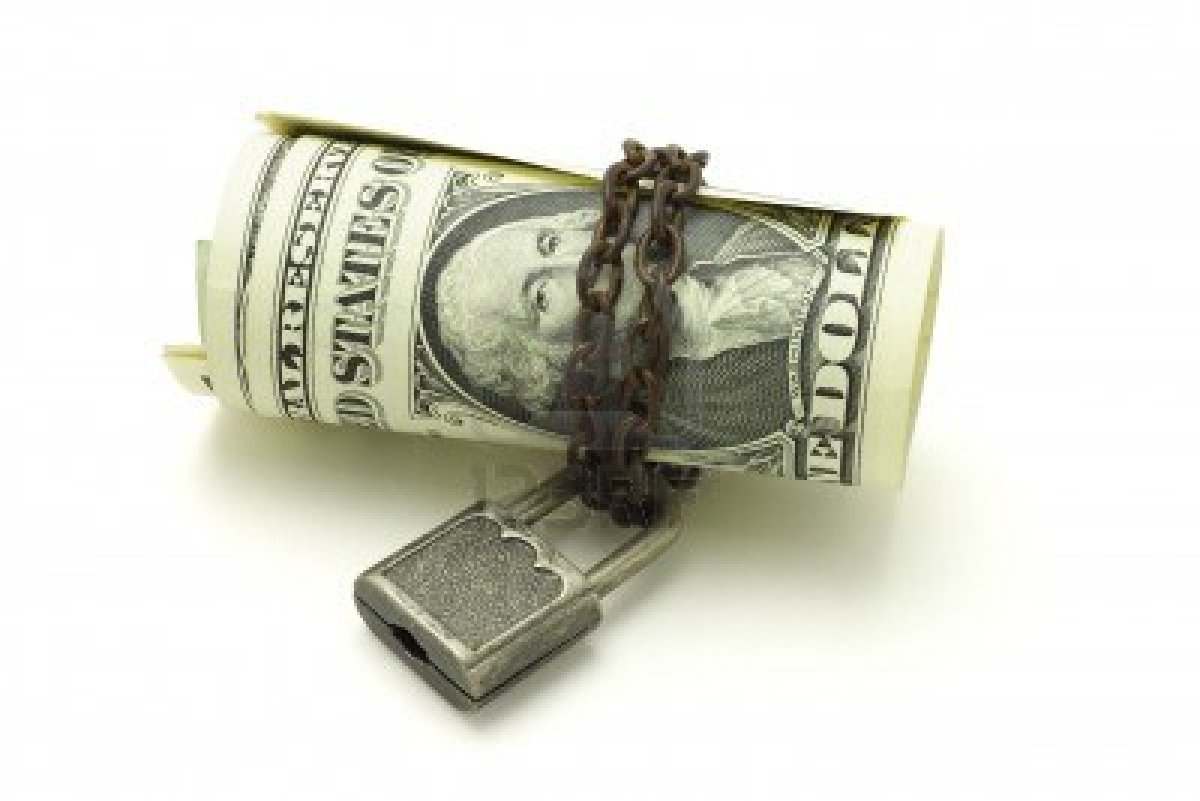 us dollars chained