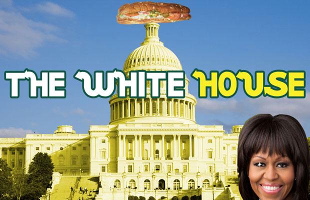 white house subway michelle obama