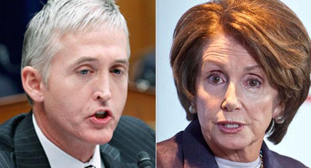 Trey Gowdy Nancy Pelosi