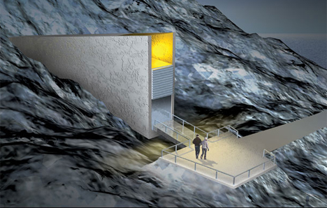 The Doomsday Seed Vault: The New World Order at Work STEALING Our Future Food Security