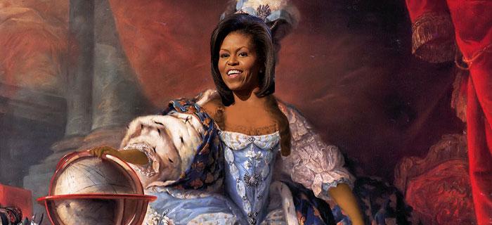michelle obama marie antoinette