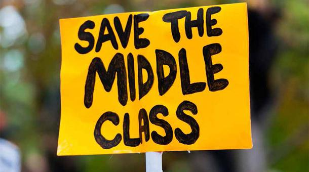 the middle and working class in