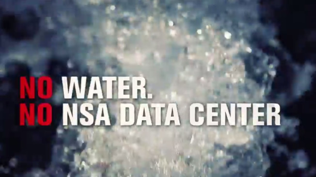 no water no nsa data center