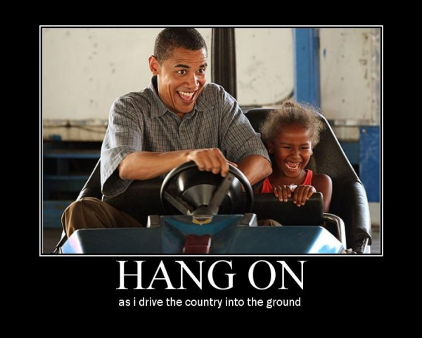 obama bumper car fail
