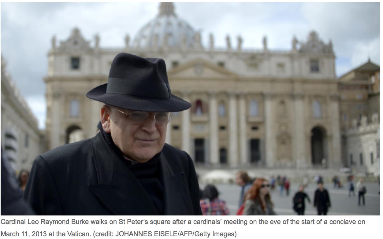 Cardinal Leo Raymond Burke