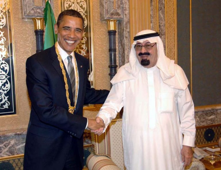 Obama ignores Saudi human rights record in meeting with King Abdullah