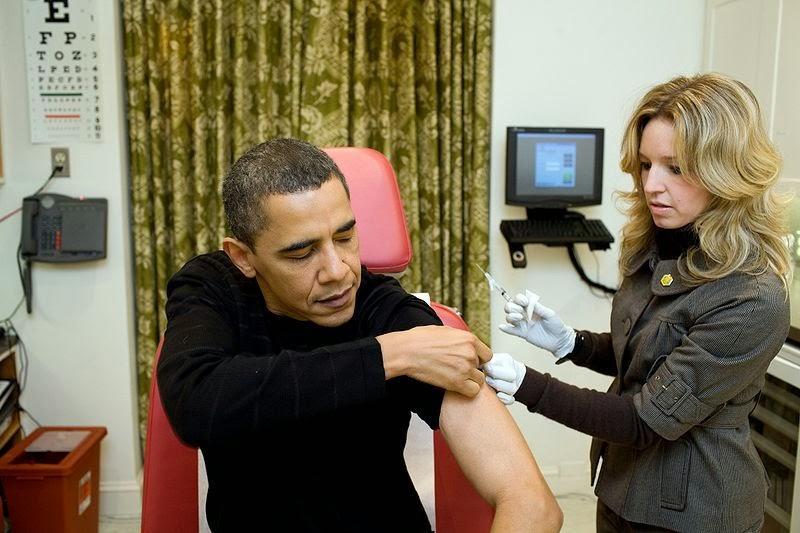 Obama vaccine propaganda Wiki