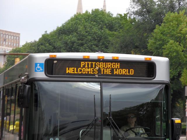 Pittsburgh-Bus