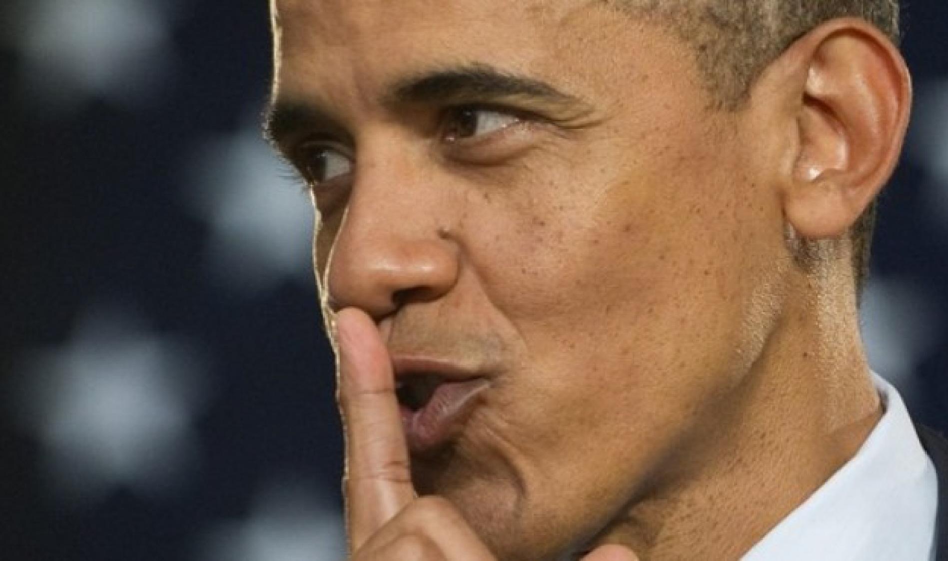 obama shhhhhhhh