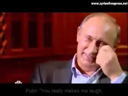 Watch This Reaction: Putin Laughs Right In This Journalist's Face