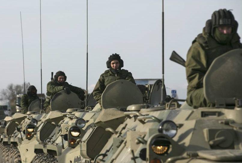 russians move toward ukrainian border