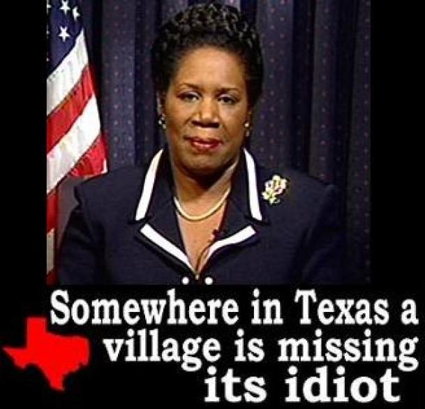 sheila jackson lee village idiot