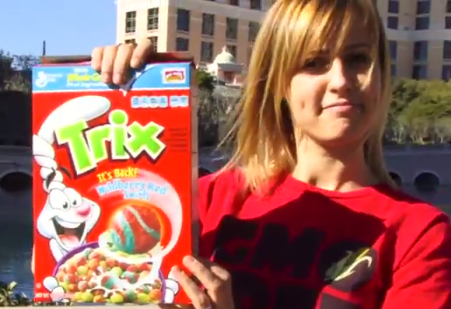 vicki lepage paint thinner in childrens cereal