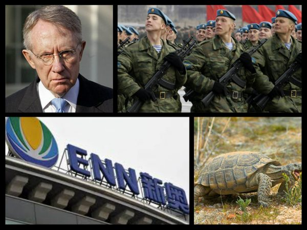 harry reid russian troops chinese businessmen desert turtles