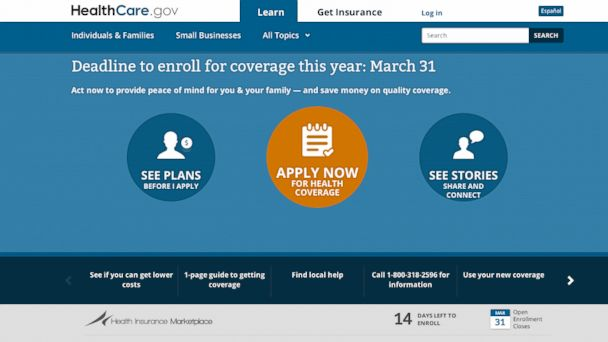 healthcare.gov deadline