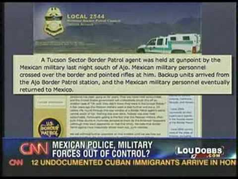 mexican military holds border patrol at gunpoint