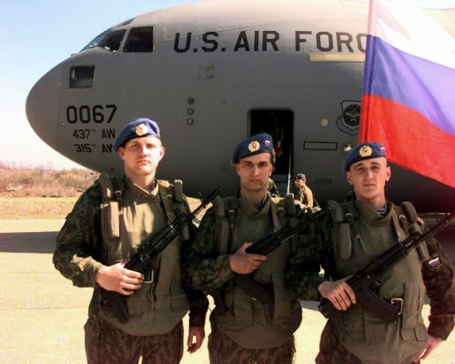 russian troops on american soil