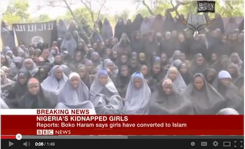 100 school girls