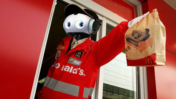 Robots to Replace Fast Food Workers and Warehouse Employees
