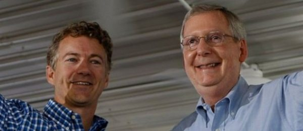 Rand Paul started to show his true colors in 2013 when he endorsed establishment Republican Mitch McConnell.