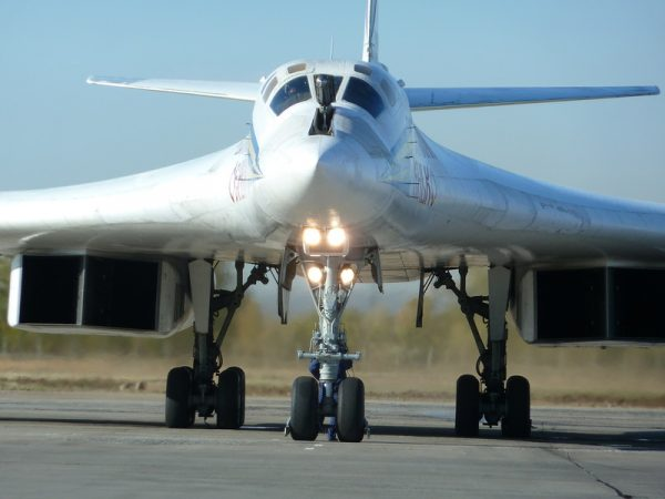 Russian Tupoleve Tu-160 Blackjack Strategic Bomber