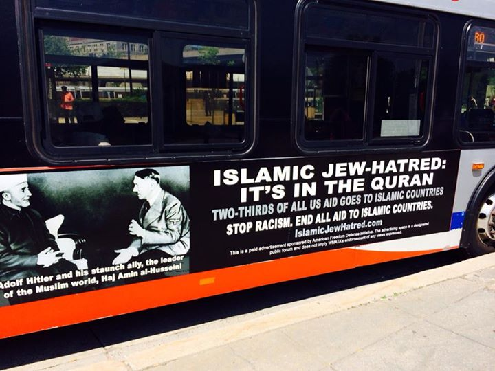 Media in Uproar over Ads Tying Hitler to Islam & Jew Hatred